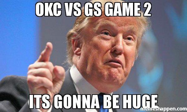 okc vs gs game 2 memeshappen memeshappen